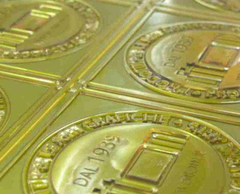 Miraclon, base acciaio Lastra tipografica ad acqua di produzione KODAK Giappone