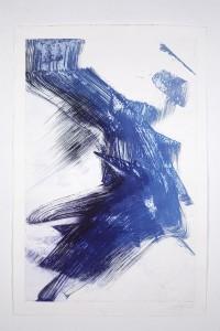 Alessandra Angelini Star Serenade -  Piano, 2008 Impressione di lastra fotopolimerica   a rilievo esposta alla luce solare. Lavorazione diretta. Stampata dall'artista su carta di cotone Hahnemuhle 300 g. Lastra cm 90 x cm 60