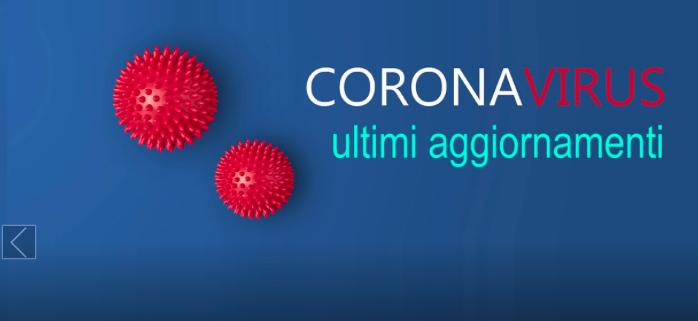 Coronavirus, aggiornamenti ditom